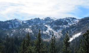 picture of Alpine Meadows from Five Lakes Trail